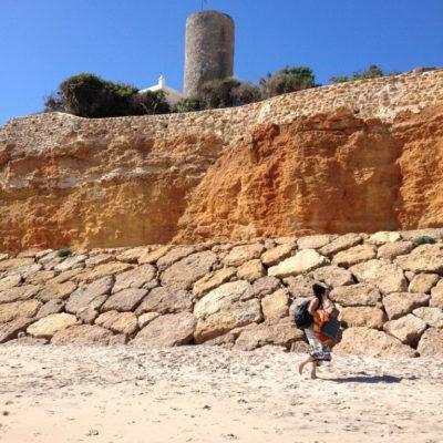 Playa la Barrossa in Chiclana de la Frontera