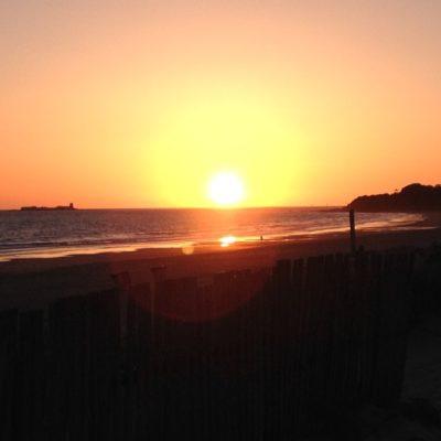 Sonnenuntergang an der Playa la Barrossa