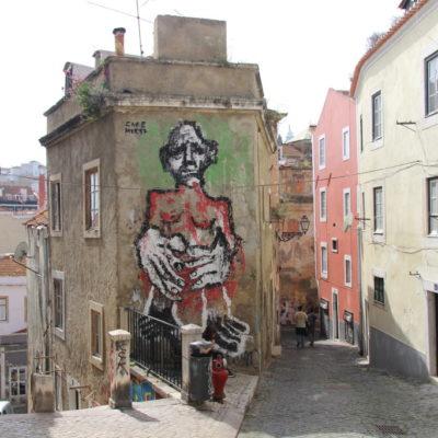 Beco dos Beguinhos - Streetart