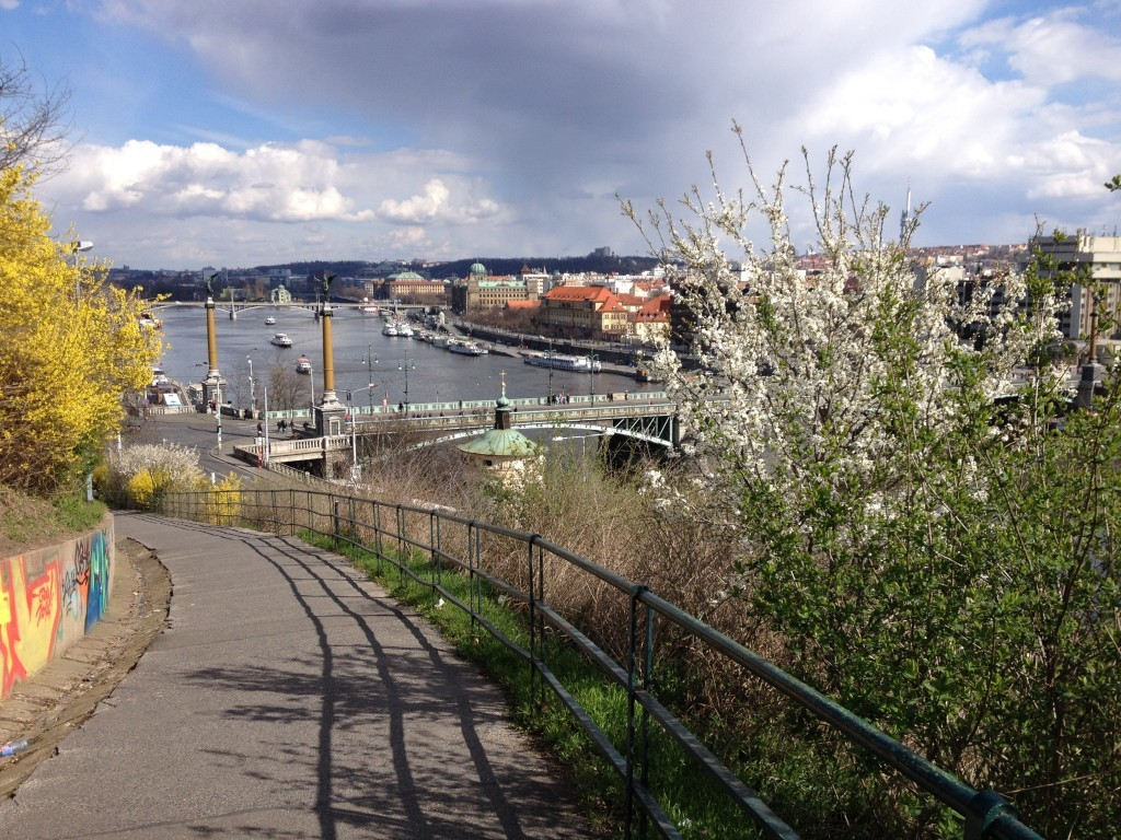 Panoramablick vom Letná-Park