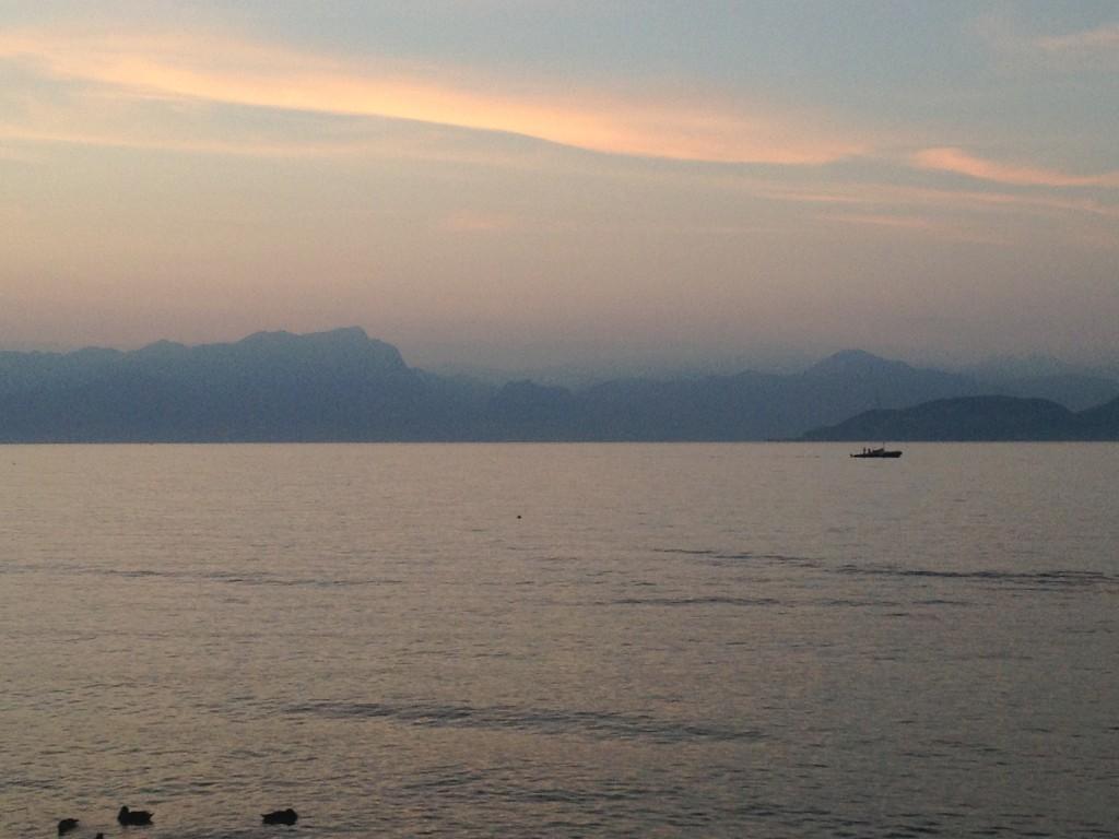 Abendstimmung in Peschiera del Garda