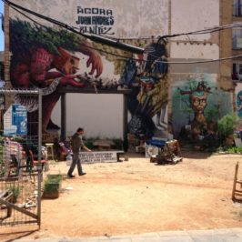 Barcelona – Straßenkunst und Clendestino