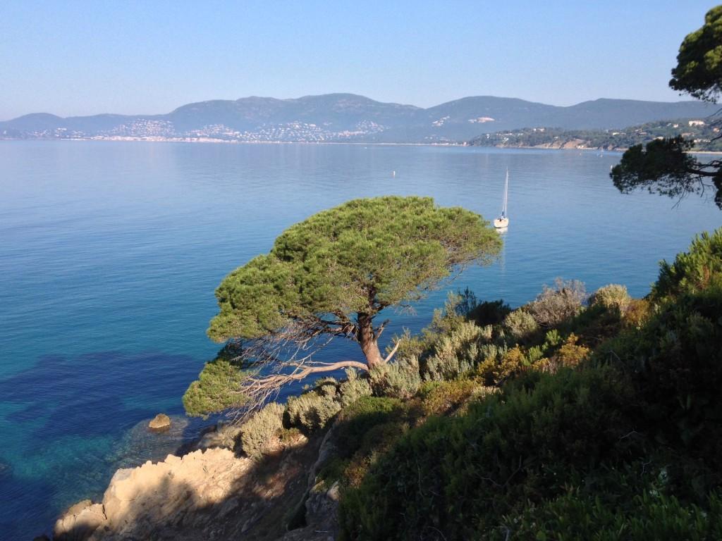 Azurblaue Küste Côte d'Azur