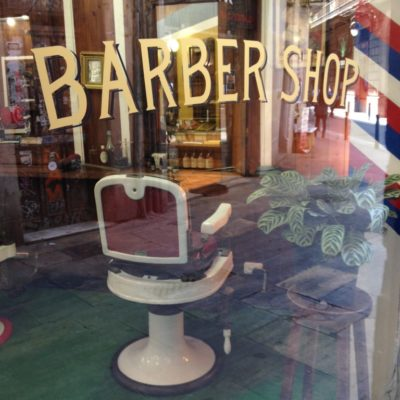 Barber Shop im Barri Gòtic