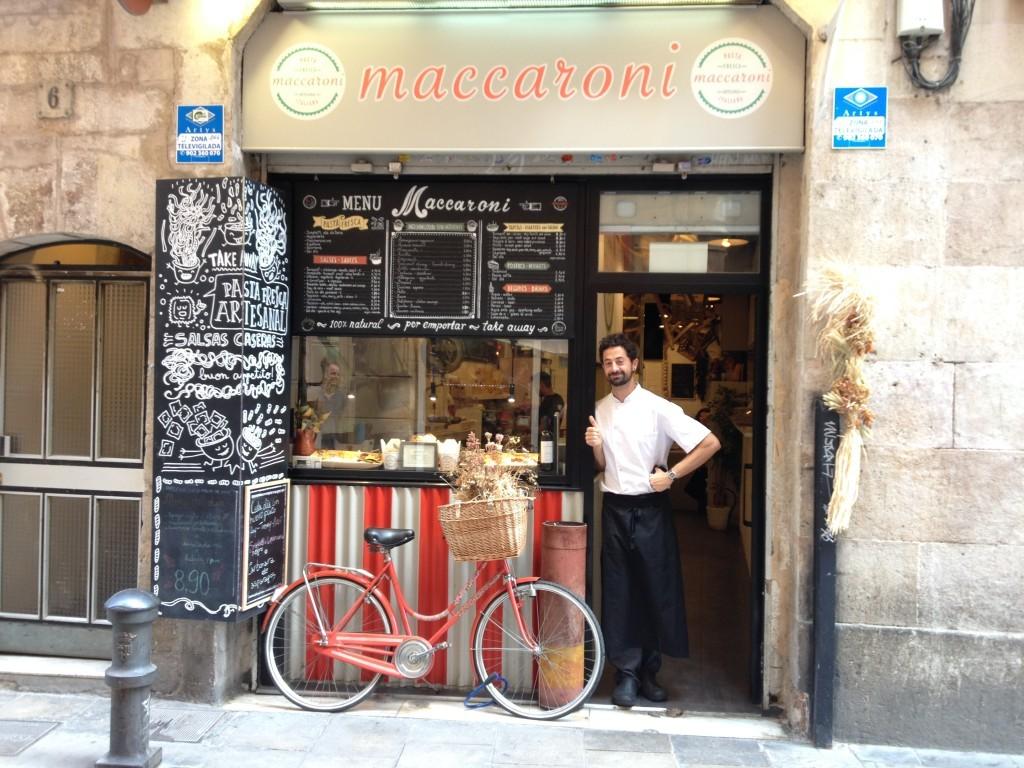 Maccaroni - Pasta im Barri Gòtic
