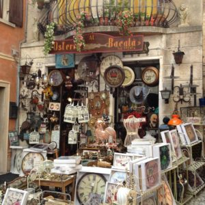 Nostalgie-Laden in Malcesine