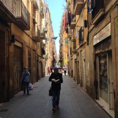 Straße von El Raval