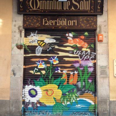 Streetart au dem Tor - Herbolari
