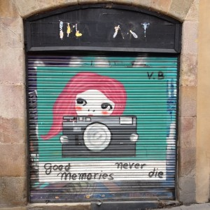 Streetart - Good Memories Never Die