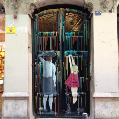 Streetart im Barri Gòtic