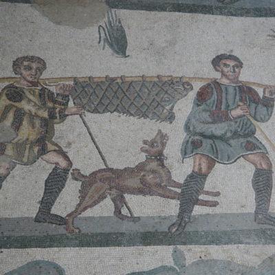Villa Romana del Casale - Wildschweinjagt