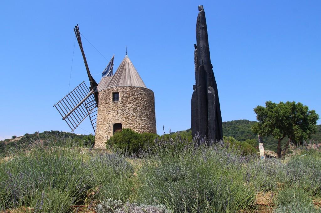 Alte Dorfmühle Moulin Saint-Roch in Grimaud