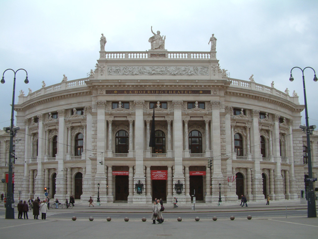 Das Burgtheater am Ring