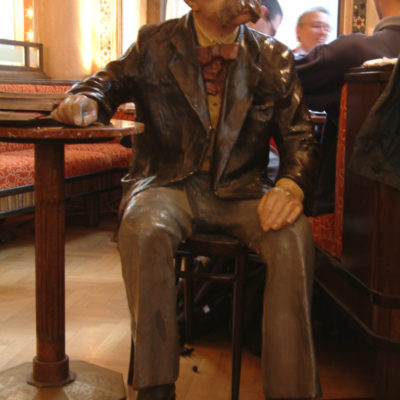 Dauergast im Café Central: Figur des Wiener Dichters Peter Altenberg