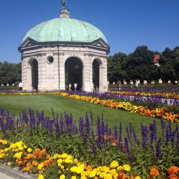 Dianatempel im Zentrum des Münchner Hofgartens