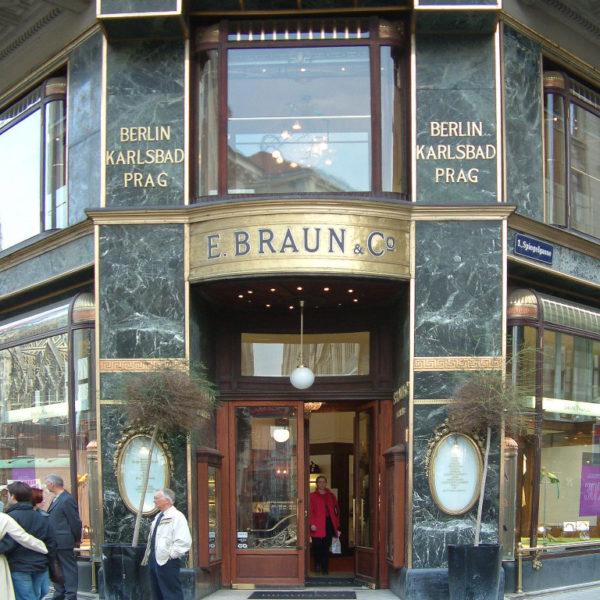 E. Braun & Co. am Wiener Graben