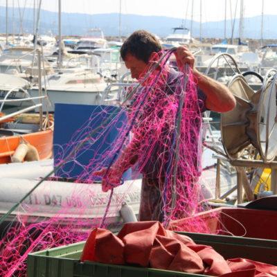 Fischer in Cavalaire sur Mer