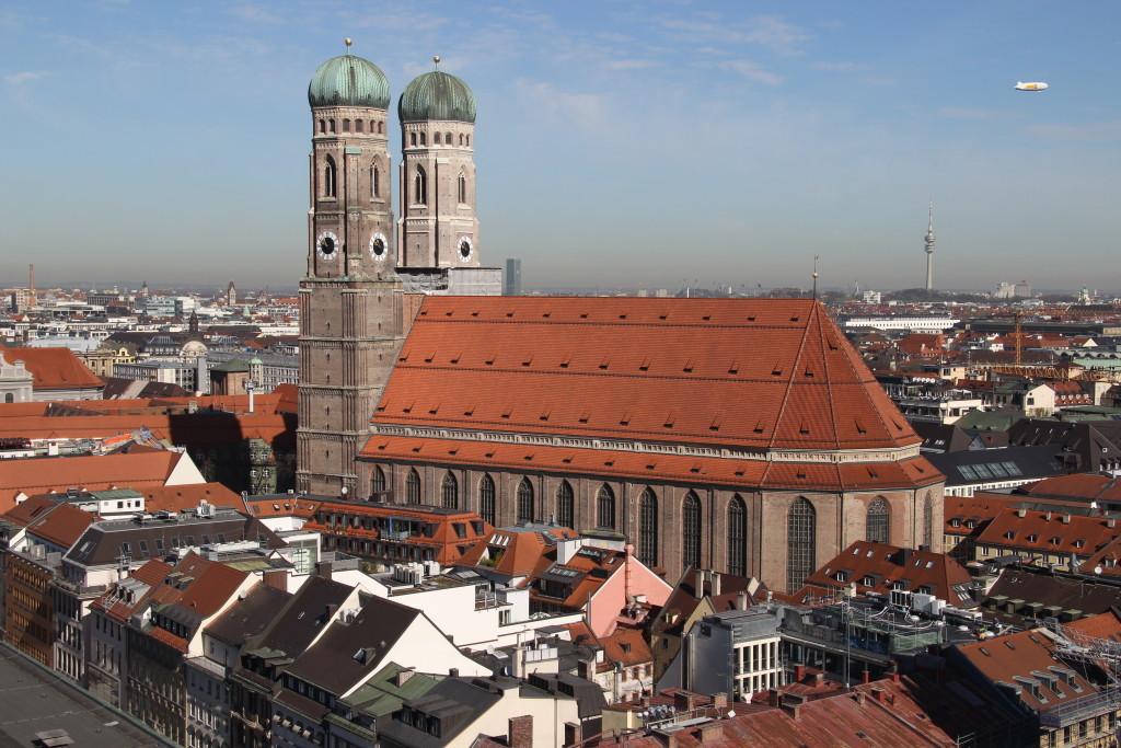 Frauenkirche vom Aussichtsturm des Alten Peter
