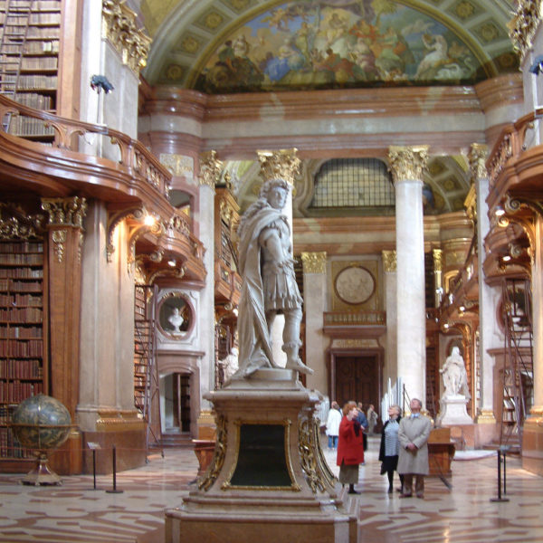 Große Halle der Nationalbibliothek