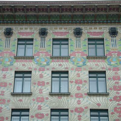 Majolikahaus von Otto Wagner