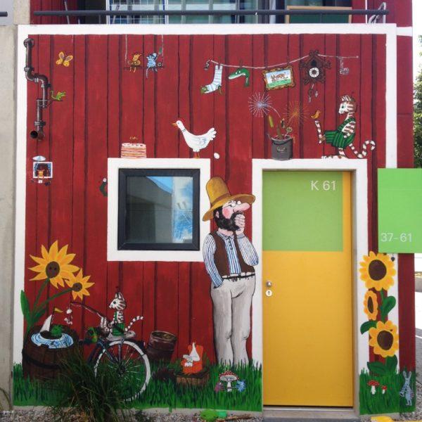 Olympisches Dorf - Der Gärtner