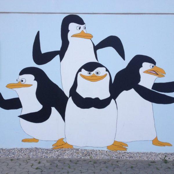 Olympisches Dorf - Die Pinguine