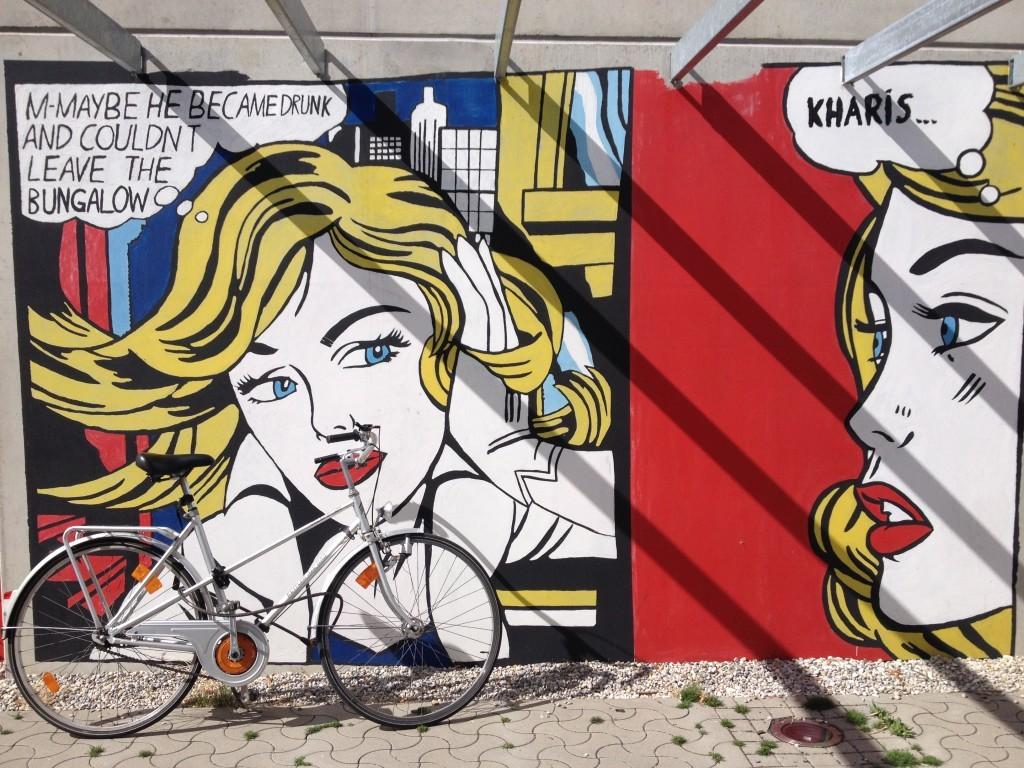 Olympisches Dorf - Pop Art