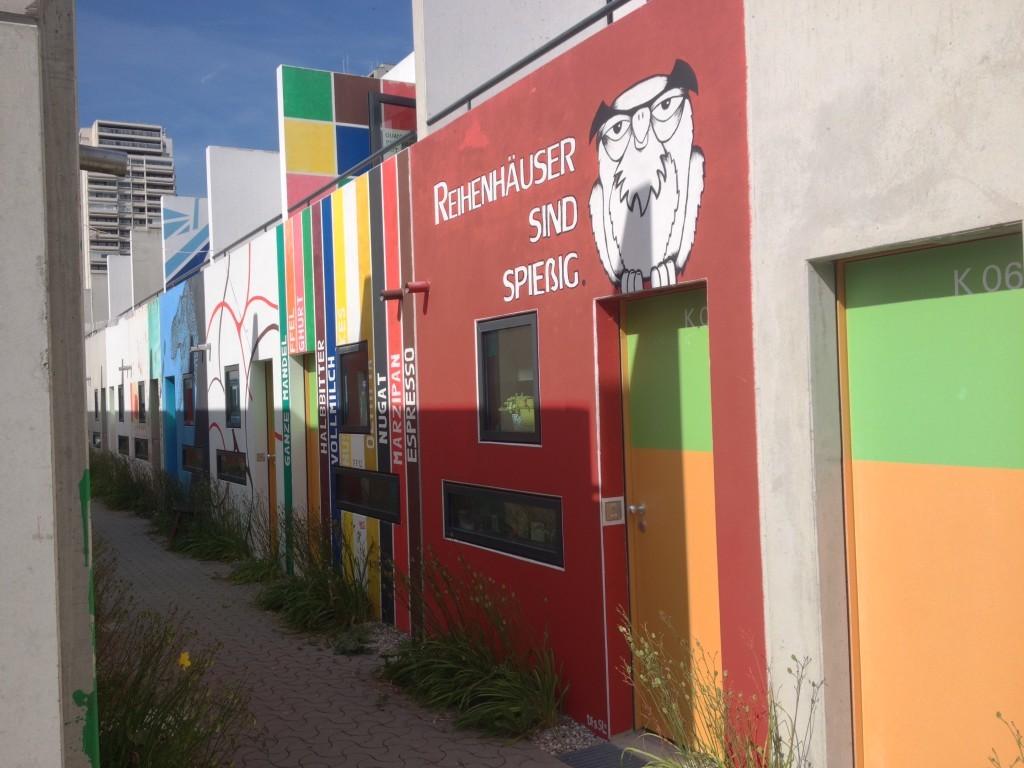 Olympisches Dorf - Reihenhäuser sind spießig