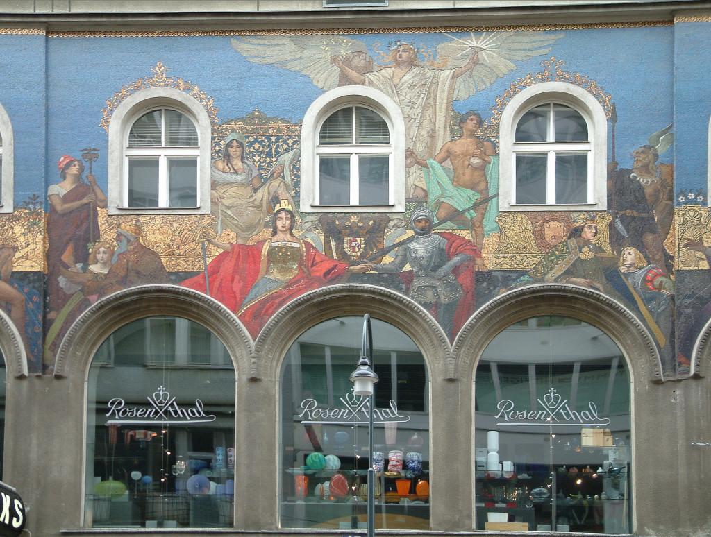 Rosenthal in der Kärntner Straße