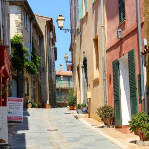 Rue des Templiers - Gasse in Grimaud