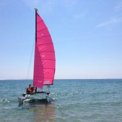 Segeln an der Côte d'Azur