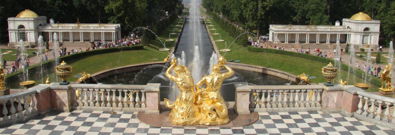 Peterhof – Die Fontänen-Hauptstadt Russlands