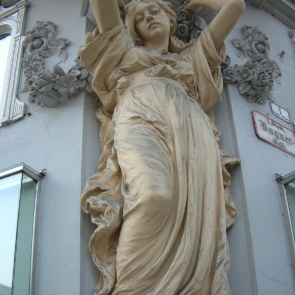 Statue am Wiener Graben