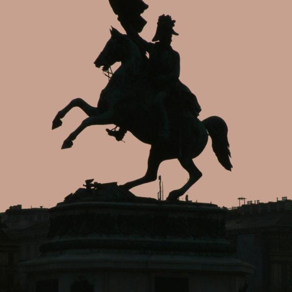 Statue von Erzherzog Karl