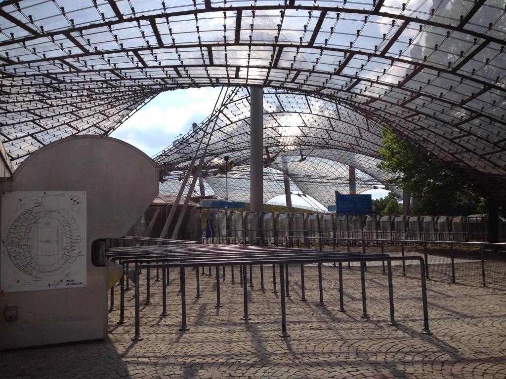 Zeltdach im Olympiastadion München
