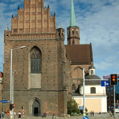 Adelbertkirche in Breslau