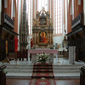 Altar der Elisabethkirche