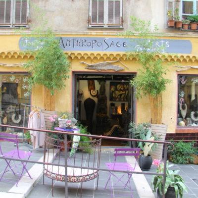 Anthropo Sage Artisanat - Kunst in der Rue Rosetti