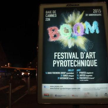Cannes – BOOM! Der Himmel brennt!
