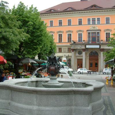 Brunnen am Blumenmarkt