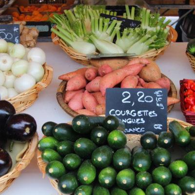 Cours Saleya - Gemüse in Körbchen