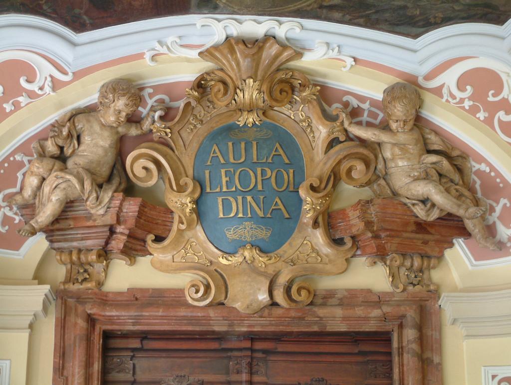 Eingang zur Aula Leopoldina