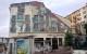 Fassadenmalerei am Gare Autobus - Cannes Cinema