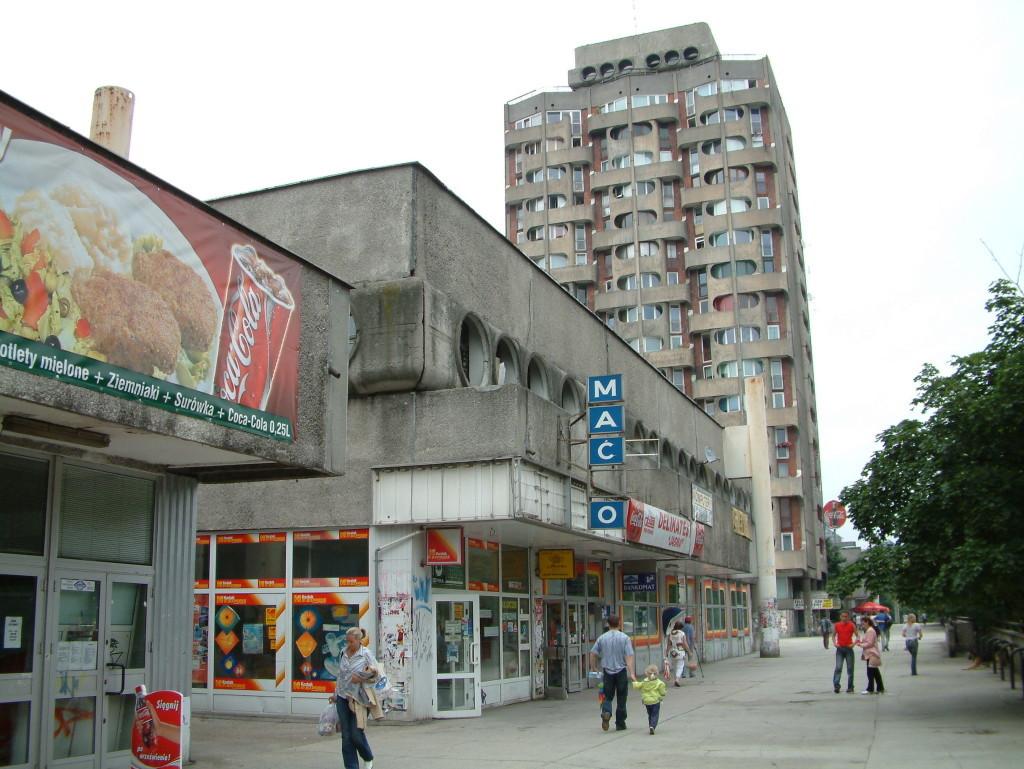 Grunwaldzki - Zwischen Ostblock-Bausünden und westlichem Fastfood