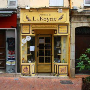 Domaine La Royrie auf dem Place aux Aires