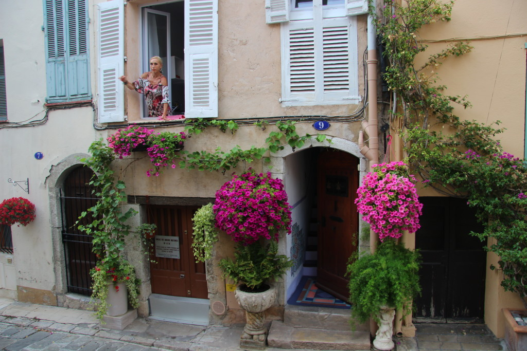 Le Suquet - Die Frau im Fenster