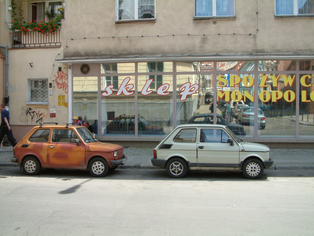 Polsik Fiat - Ein Teil der polnischen Verkehrsgeschichte