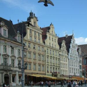 Rynek - Westseite des Breslauer Marktes