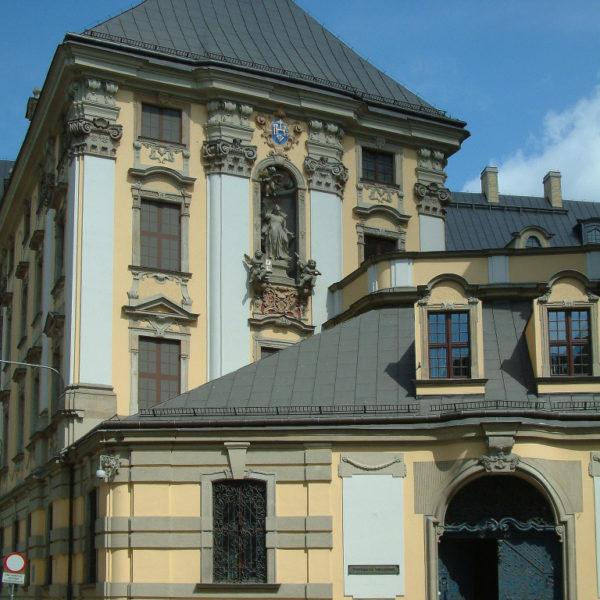 Universitätskirche des Namens Jesus in Wroclaw / Breslau