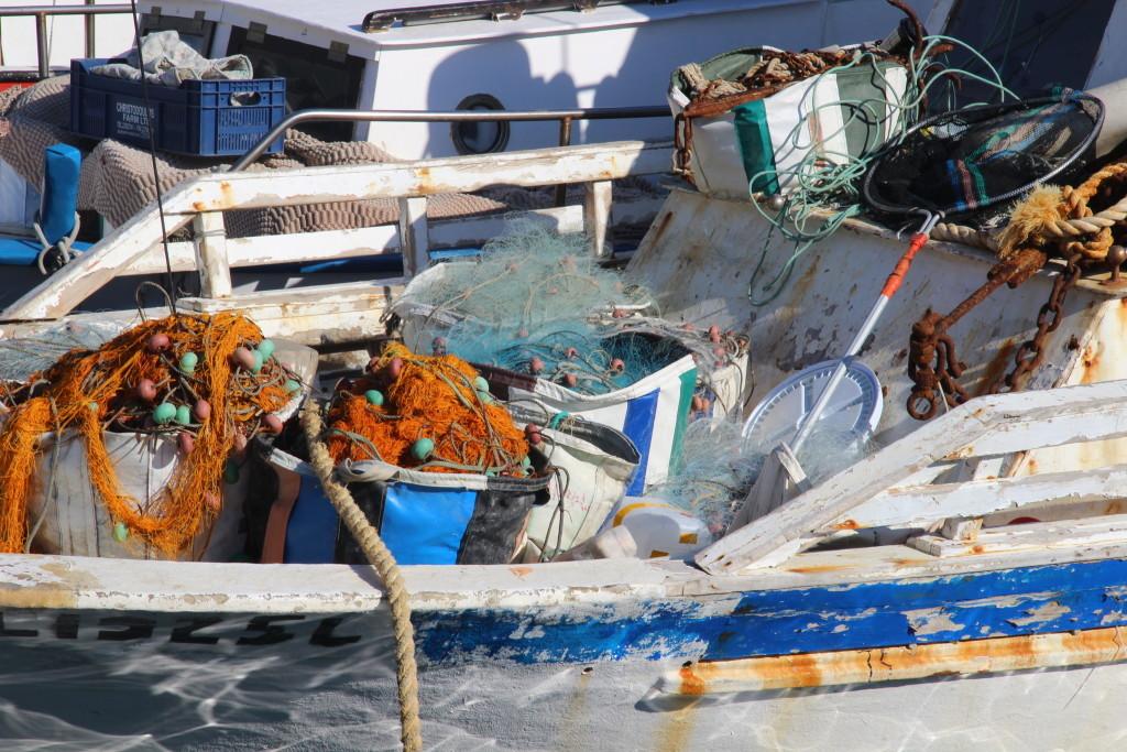 Alter Hafen in Limassol - Fischerboote